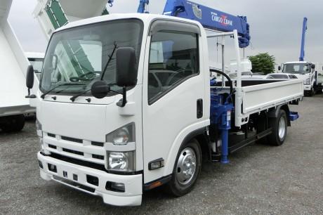 平成22年式・いすゞエルフ・タダノZF265HE・クレーン付車