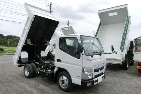 平成29年式・三菱キャンター・FBA60・3方開ダンプ