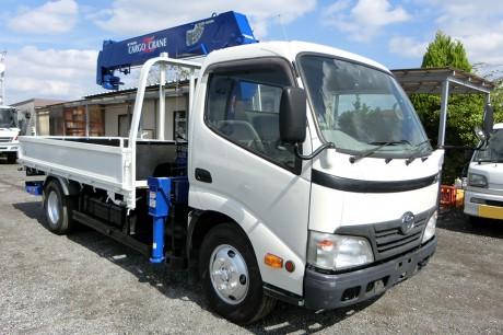 平成22年式・トヨタダイナ・ZF265HE・クレーン付車