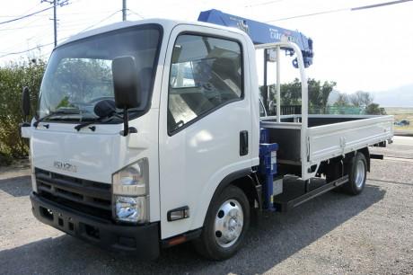 平成24年式・いすゞエルフ・ZR264HE・クレーン付車