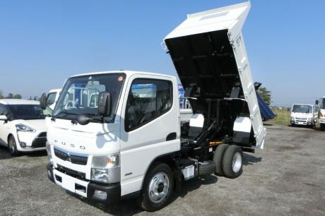 平成29年式・三菱キャンター・FBA60B・強化3方開ダンプ