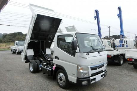 平成29年式・三菱キャンター・FBA30B・強化3方開ダンプ