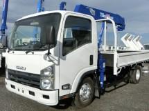 平成23年式・いすゞエルフ・ZR264HE・クレーン付車