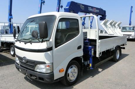 平成22年式・トヨタダイナ・ZR264HE・クレーン付車
