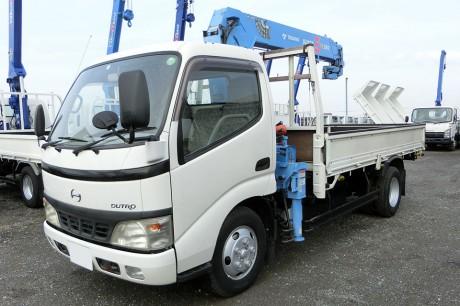平成16年式・日野デュトロ・ZF264HE・クレーン付車