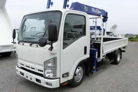 平成25年式・いすゞエルフ・ZR264HE・クレーン付車