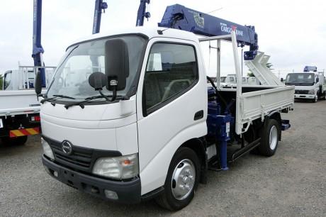 平成21年式・日野デュトロ・ZF265HE・クレーン付車