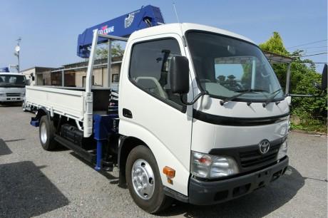 平成22年式・トヨタダイナ・ZR265HE・クレーン付車
