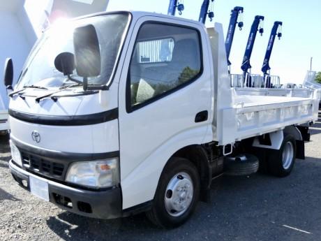 平成18年式・トヨタダイナ・XZU351D・全低床強化ダンプ