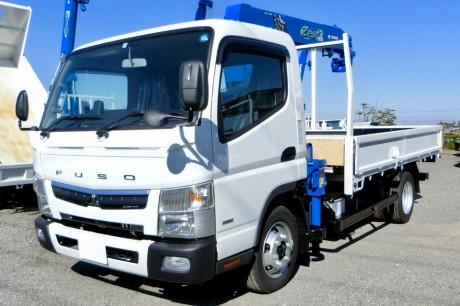 平成30年式三菱キャンターZE264HEクレーン付車