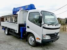 平成22年式トヨタダイナタダノZF265HEリアジャッキ付クレーン車