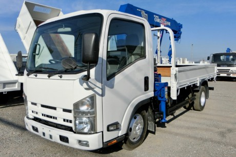 平成24年式いすゞエルフタダノZR264HEクレーン付車