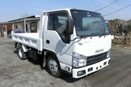 平成23年式いすゞエルフNJR85ADダンプ