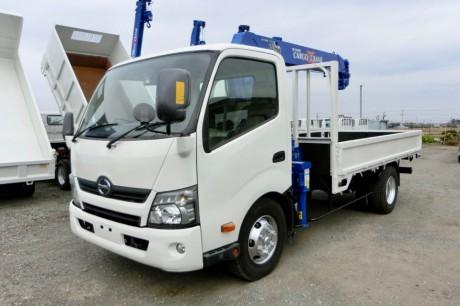平成24年式日野デュトロ ZR294HE付クレーン車