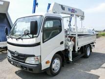 平成22年式トヨタXZU334タダノZR265HEクレーン付