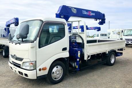 平成24年式日野デュトロタダノZR295HEリヤジャッキ付クレーン車