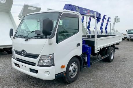 平成25年式 日野デュトロ タダノZR304J(HE)付 クレーン車