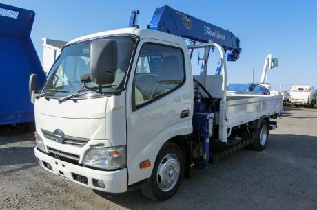 平成26年式日野デュトロ ZR295HE付クレーン車