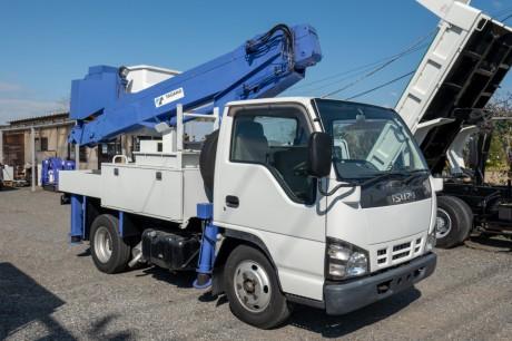 平成19年式いすゞエルフ高所作業車タダノAT100TT