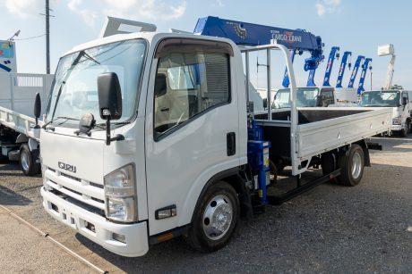 平成26年式いすゞエルフワイド タダノクレーンZR294HE付車